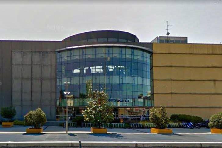 Vetrocemento Centro Commerciale Sarca Milano